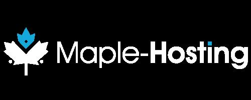 Maple-Hosting Logo